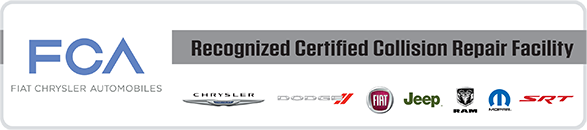 FCA Recognized Certified Collision Repair Facility Image